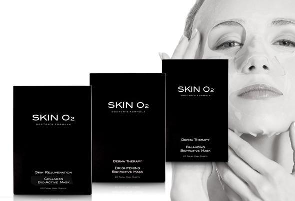 Skin O2 Collagen Mask Single (Bio Active)
